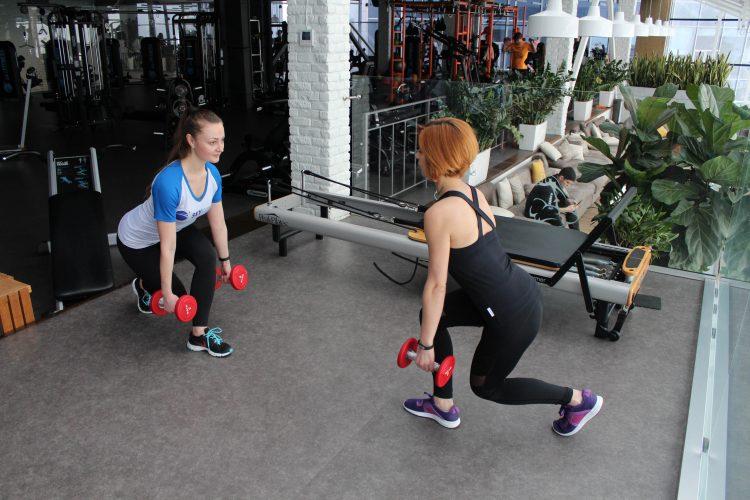 тренировка силовая тренер
