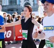 Киевский Полумарафон Бегуны Бег Забег