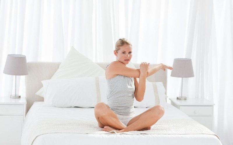 вправи у ліжку